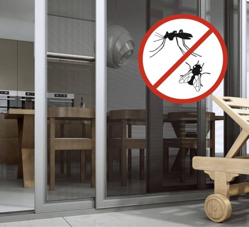 Dopasowane moskitiery