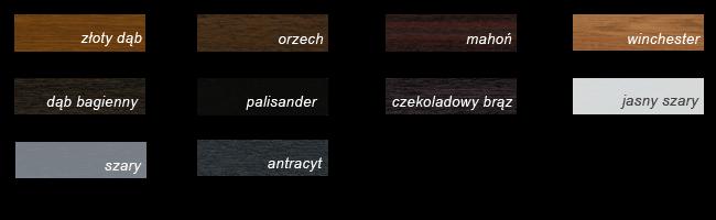 Kolory okien